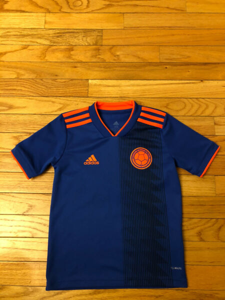 Colombia Adidas Climalite Toddler Soccer Jersey Size 7 8 $29.99