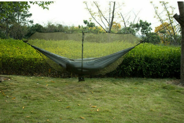 Hammock Bug Net Jungle Hammock Mosquito Net Camping Travel Hanging Bed Tent $25.51