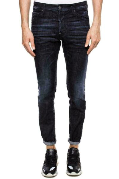 Dsquared ² Cool Guy Jeans Tapered Leg Ripped Trousers Denim Pants 5 Pocket 52 $342.53