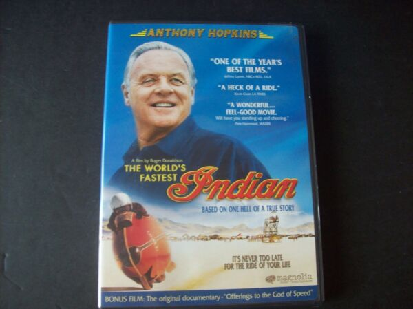 The Worlds Fastest Indian DVD 2006 $5.00