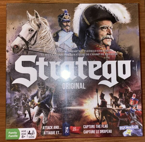 Stratego Original Battlefield Strategy Game New Factory Sealed