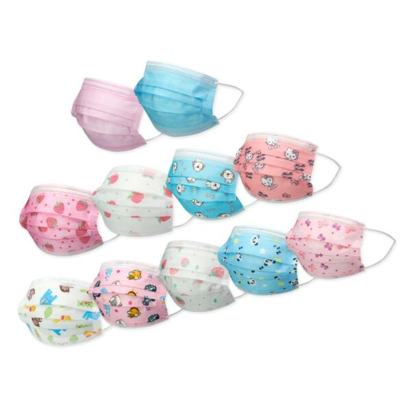 10 20 30 50 KIDS TODDLERS Face Mask Mouth Nose Protector Respirator Filter LOT $9.99