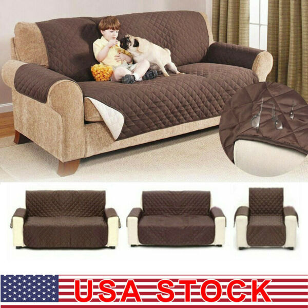 Waterproof Sofa Cover Chair Couch Slipcover Pet Dog Kids Mat Furniture Protector $8.99