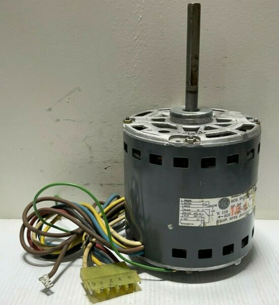 GE Motors 5KCP39PGN160AS Furnace Blower Motor 3 4HP 1075RPM 4SPD 115V used MB58 $100.00