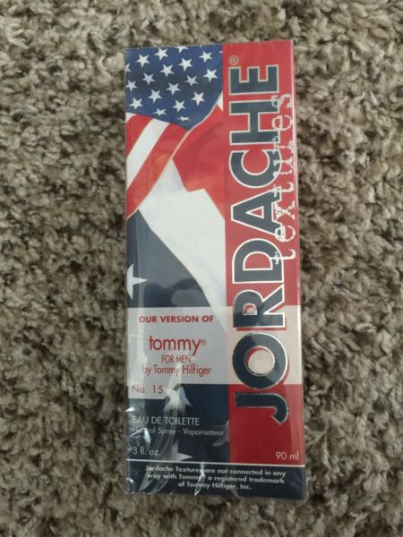 Jordache #15 Version of Tommy for Men Eau De Toilette Spray 3 FL Oz 90 ml K4 $6.00