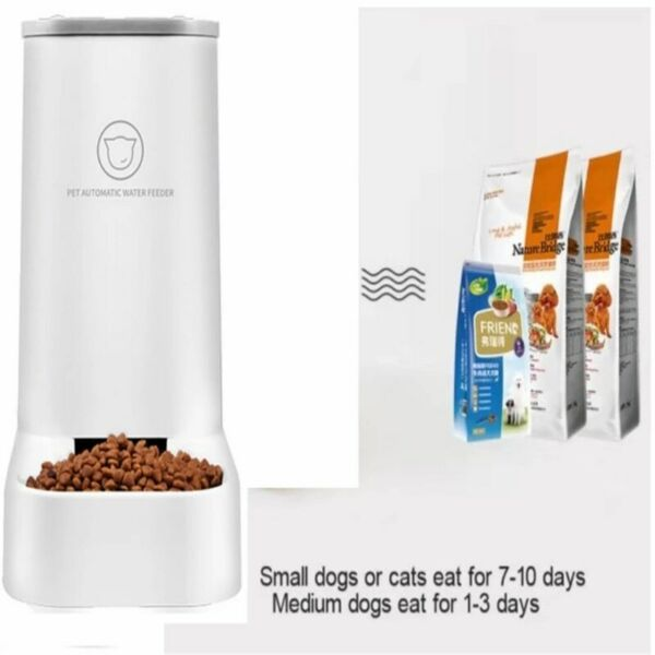 Cat Feeding Bowls for Dog Automatic Feeders Dog Water Dispenser $35.99