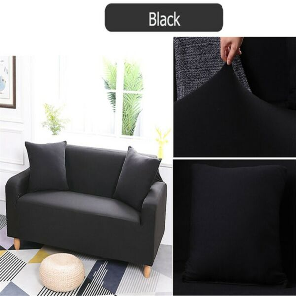 1 Seater Sofa Covers Stretch Couch Cover Furniture Protectors for Most Sofa $20.36