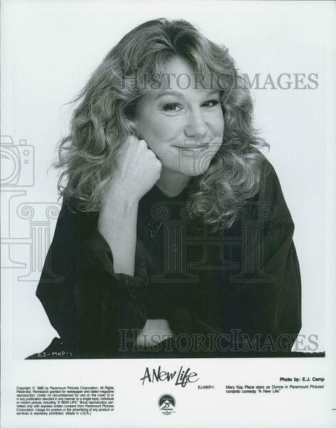 1988 Press Photo Mary K Place Actress Star quot;A New Lifequot; DFPG63205