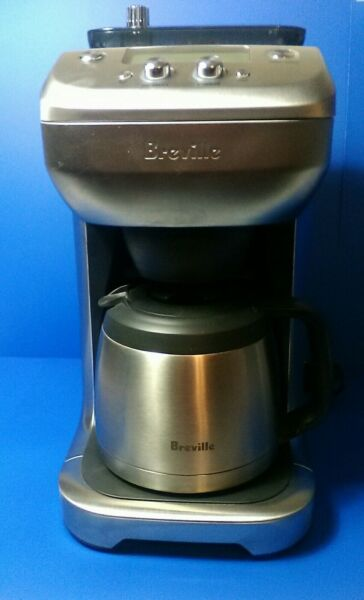 Breville BDC650BSS Grind Control 12 Cup Coffee Maker Brushed Stainless Steel