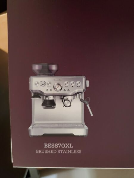 BARISTA EXPRESS ESPRESSO MACHINE Brushed Stainless Steel brand new in box