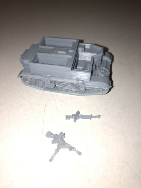 1 56 scale 28 mm Universal Carrier $6.00