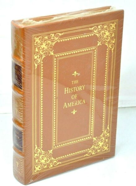 THE HISTORY OF AMERICA VOLUME 3 Easton Press Leather Sealed New $34.00