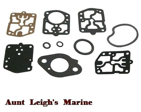 New Carburetor Carb Kit Mercury Mariner Outboard 40 45 50 HP 18 7215 1395 9024 $13.97