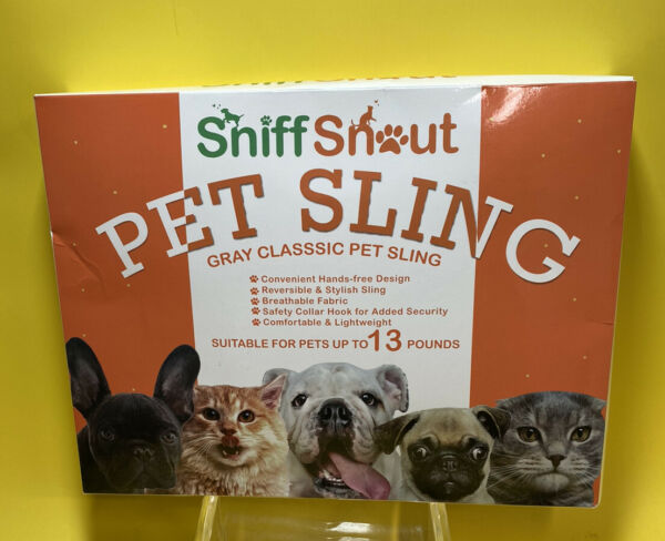 SniffSnout Pet Sling for Small Dogs Dog Sling Carrier Sturdy Washable $22.00