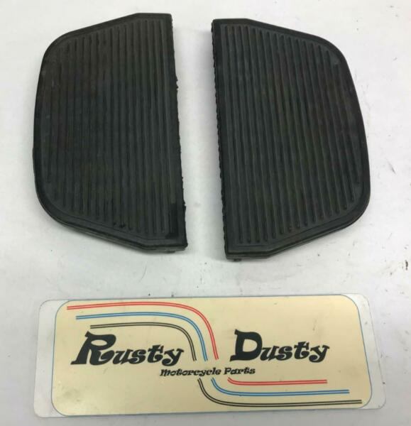 Harley Replacement Rubber Passenger Floorboard Pads 50606 06 $16.99