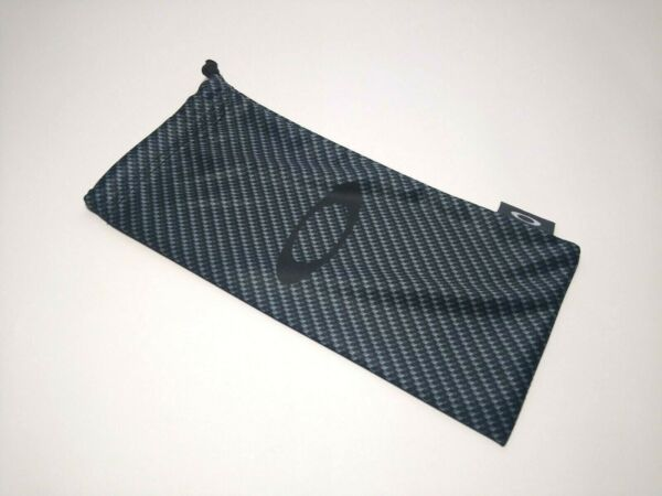 Oakley Carbon Fiber Sunglasses Eyeglasses HDO Microbag Cleaning Bag Pouch New $14.99