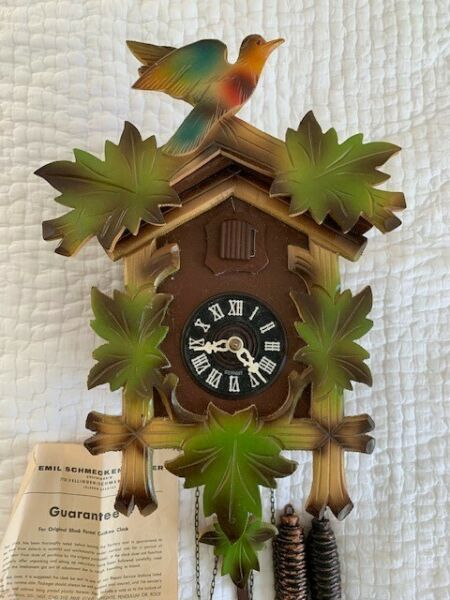 German Black Forest Schmeckenbecher Cuckoo Clock