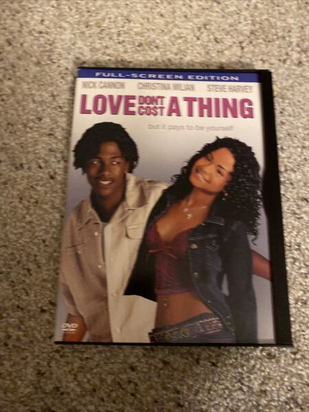 Love Dont Cost a Thing DVD 2004 Full Screen Nick cannon Christina Milian $6.50