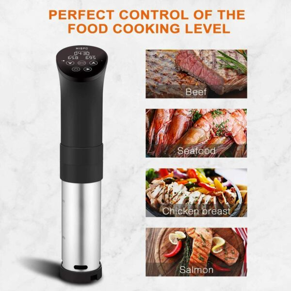 Sous Vide Precision Cooker with Digital Circulator Ultra Quiet 1000W