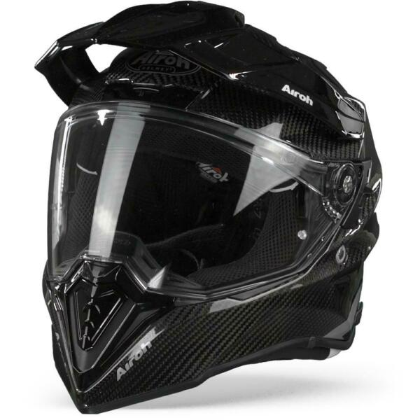 Airoh Commander Full Carbon Gloss Motorcycle Helmet New Free Shipping $486.99
