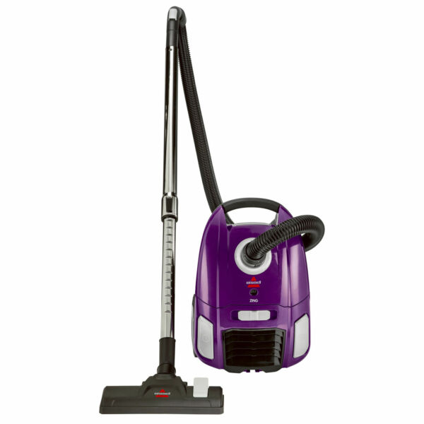 BISSELL Zing Bagged Lightweight Portable Canister Vacuum Cleaner 2154A