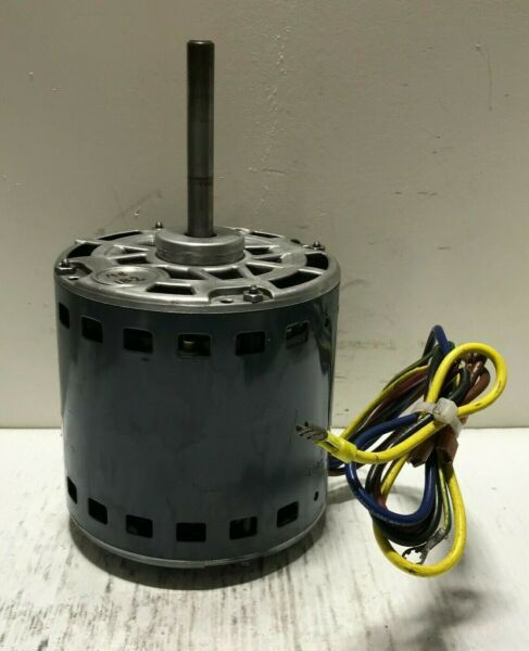 GE Furnace Blower Motor 3 4 HP 230 Volt 1075 RPM 3 SPD 5KCP39PGS083S used #MB182 $110.00