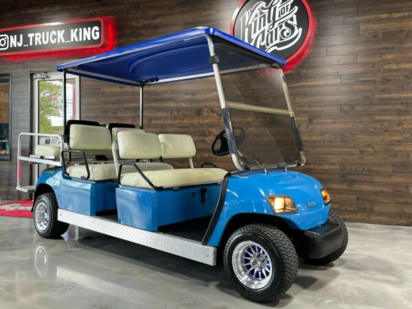 YAMAHA GAS 6 SEATER GOLF CART CUSTOM MUST SEE EXCELLENT CONDITION SHARP COLOR $8900.00