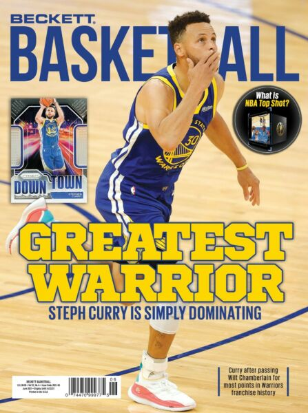 BRAND NEW JUNE 2021 BECKETT BASKETBALL PRICE GUIDE MAGAZINE STEPH CURRY COVER