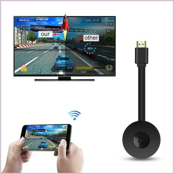 Chromecast Wifi Display Receiver 4th Gen 1080P HD HDMI Video Digital Streamer $12.79