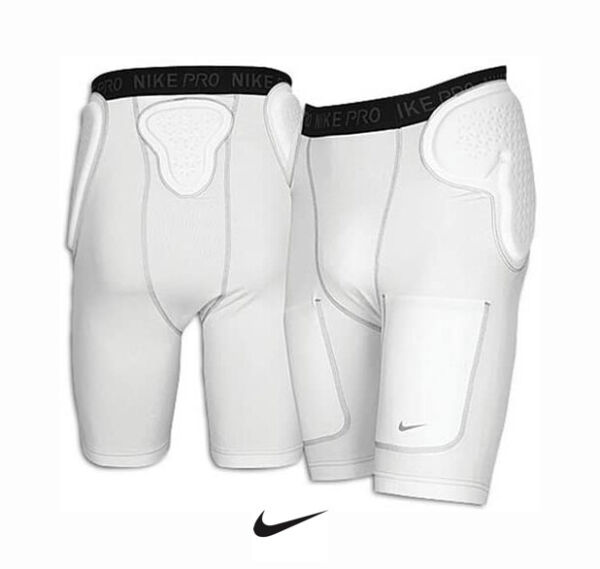 NEW Nike Pro Dri Fit Impact Football Girdle Compression Shorts Padded Large L