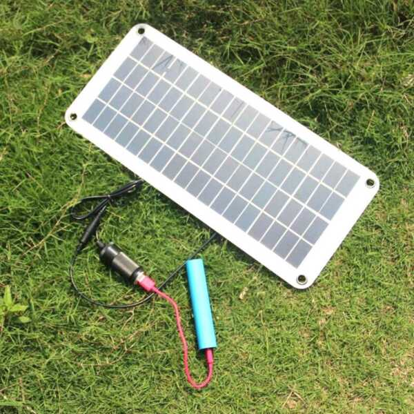 Solar 20W Panel Kit Car Trickle Battery Power Supply Solar Panel Battery Charger $32.54