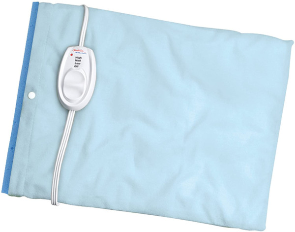 Sunbeam Heating Pad for Pain Relief Standard Size UltraHeat 3 Heat Settings... $17.54