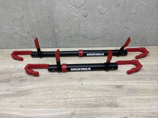 2 YAKIMA Bicycle Tube Top Bike Rack Carrier Frame Adapter Extension Bars $79.99