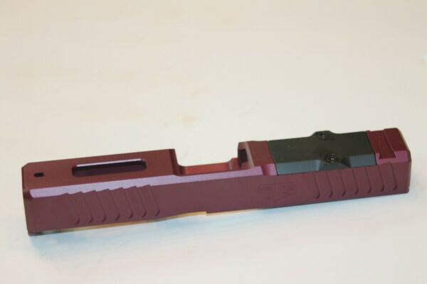 TTS CUSTOM BLACK CHERRY GLOCK 19 gen 3 Poly 80 PF940C Polymer 80 slide $229.99