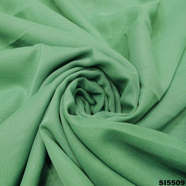 Women#x27;s Sari Vintage Silk Blend Green Traditional Indian Ethnic Saree SI5509 $18.33