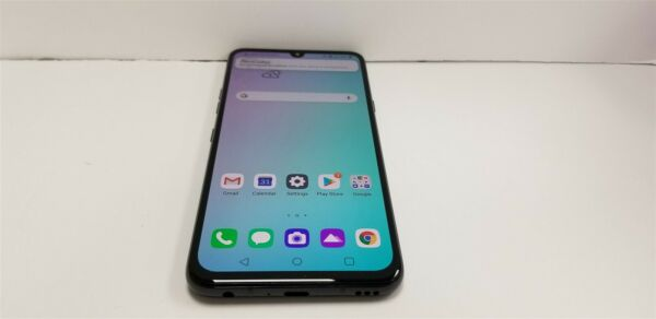 LG G8X ThinQ 128gb Aurora Black LM G850 ATamp;T Great Phone Discounted NW4796