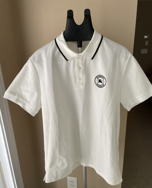 Burberry Polo T Shirt New amp; Authentic Size XXL White $159.00