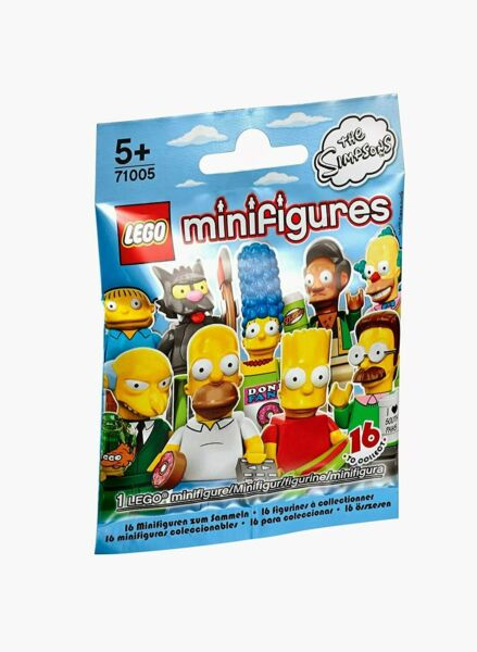 Lego The Simpsons Minifigures Series 1 Pack 71005 Brand New Sealed