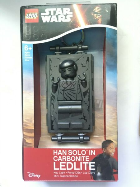LEGO Star Wars Han Solo in Carbonite LED Lite Key Chain $18.00