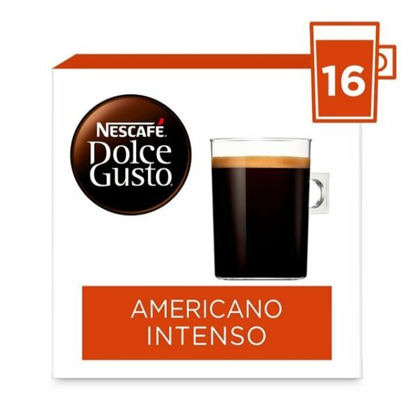 3x Nescafe Dolce Gusto Americano Intenso 3x16 pods 48 servings EXP 05 2021