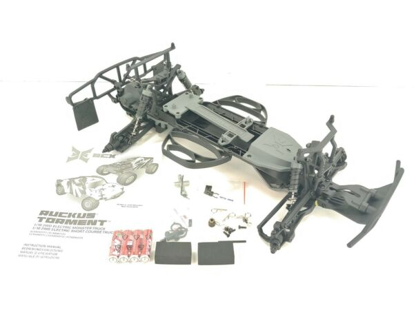 NEW: ECX Torment 1 10 2wd Short Course Truck Roller Slider Chassis w Manual