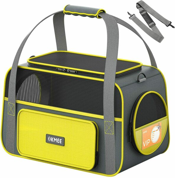 OKMEE Soft Pet Carrier for Small Medium Cats Dogs Puppies Cat with... $44.24