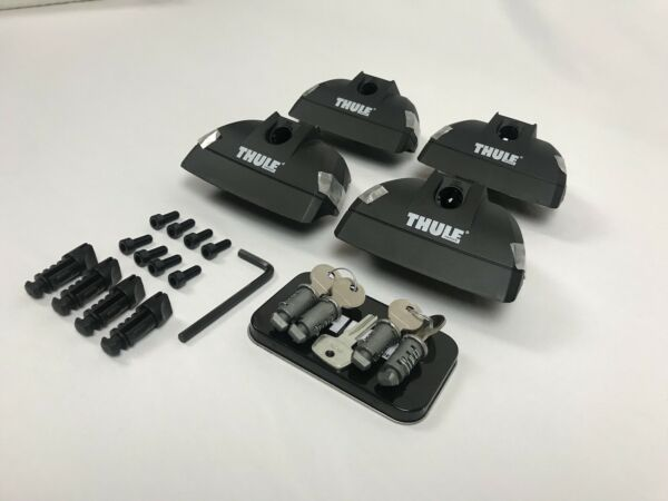 Thule 460R Rapid Podium Foot Pack includes Thule 544 One Key System Lock Set $188.89