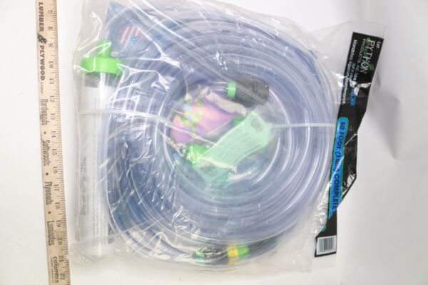 Python Gravel Vacuum No Spill Clean And Fill Aquarium Water Changer 50ft 940023 $48.60