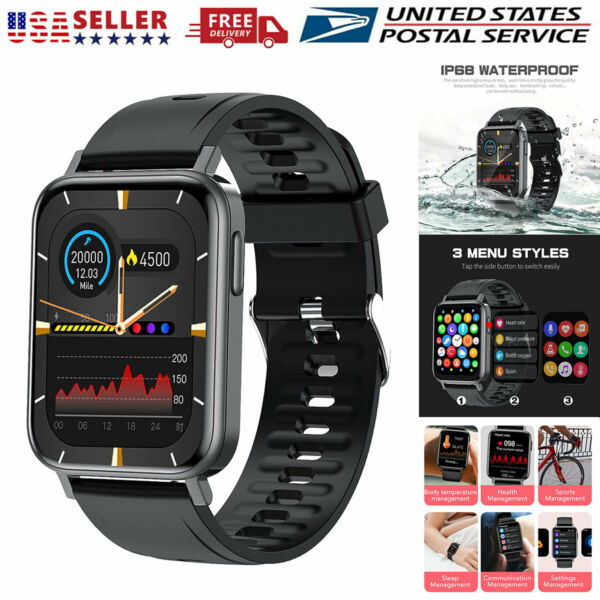 Waterproof Bluetooth Smart Watch Fitness Tracker For iPhone iOS Samsung Android $29.99
