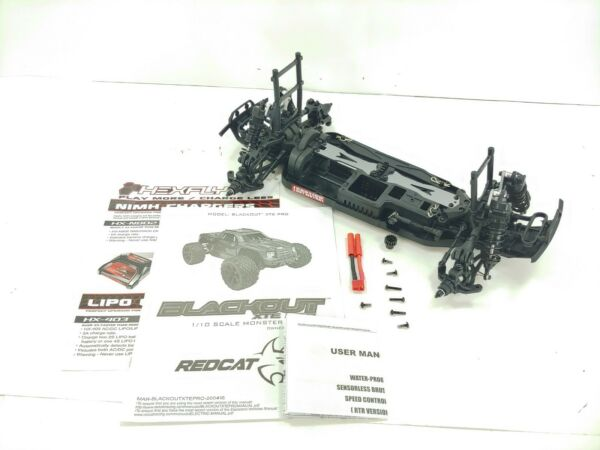 NEW: Redcat Blackout XTE PRO 1 10 4wd 4x4 SUV Roller Slider Chassis SUV Version $99.99