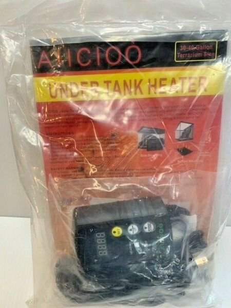 Aiicioo Under Tank Heater Thermostat Reptile Heating Pad With Temperature D1 $30.00