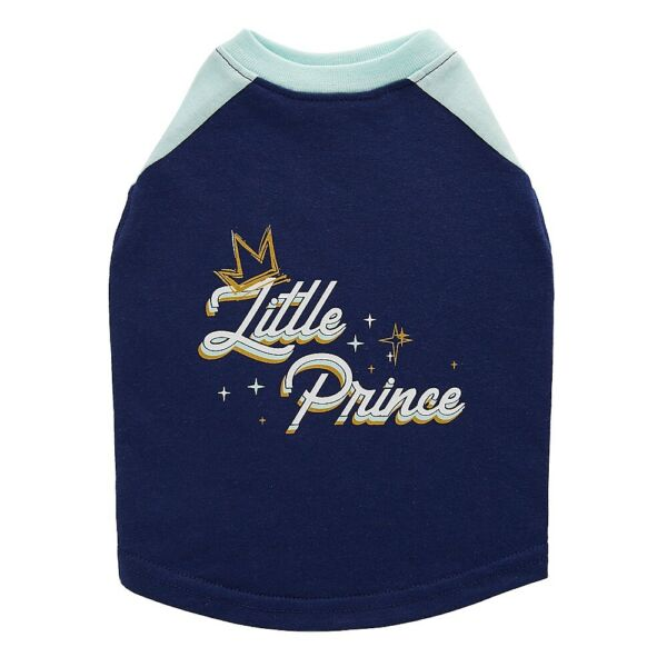 """NWT Top Paw Dog XS Shirt """"Littlle Prince"""" Blue $5.95"""