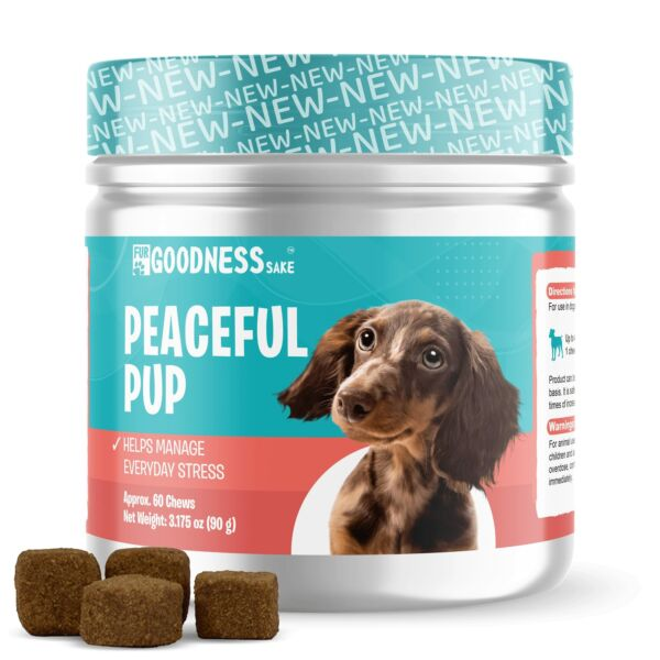 Dog Calming Chews Anxiety Relief Treats to Help Dog Separation Anxiety $12.99