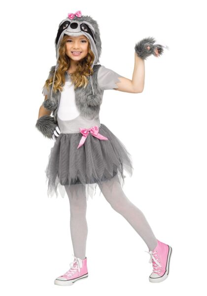 Sweet Sloth Costume for Girls $49.98
